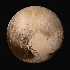 Photo of Pluto.